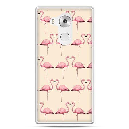 Etui na telefon Huawei Mate 8 flamingi
