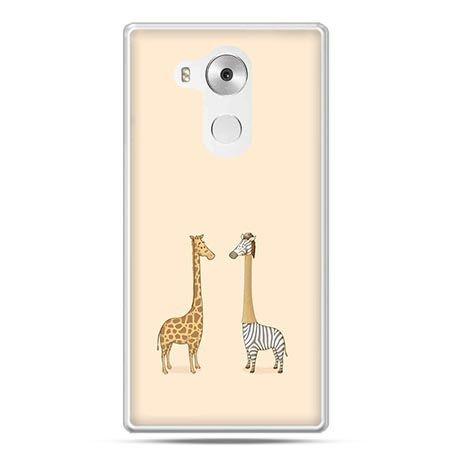 Etui na telefon Huawei Mate 8 żyrafy