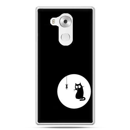 Etui na telefon Huawei Mate 8 kotek