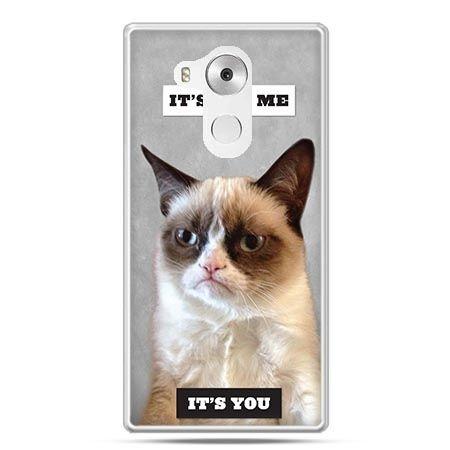 Etui na telefon Huawei Mate 8 grumpy kot zrzęda