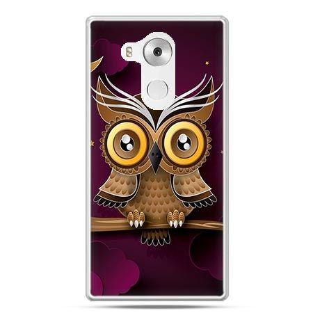 Etui na telefon Huawei Mate 8 sowa na gałęzi