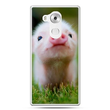 Etui na telefon Huawei Mate 8 świnka