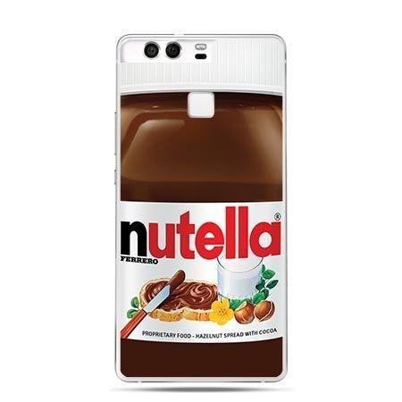 Etui na telefon Huawei P9 Nutella czekolada słoik