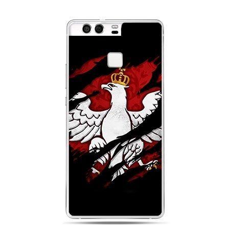 Etui na telefon Huawei P9 patriotyczne - Polski Orzeł