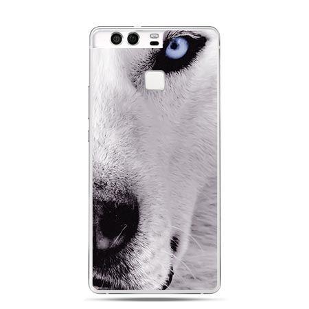 Etui na telefon Huawei P9 wilk