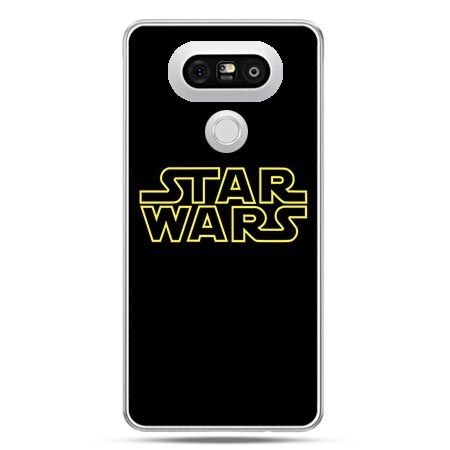 Etui na telefon LG G5 Star Wars złoty napis
