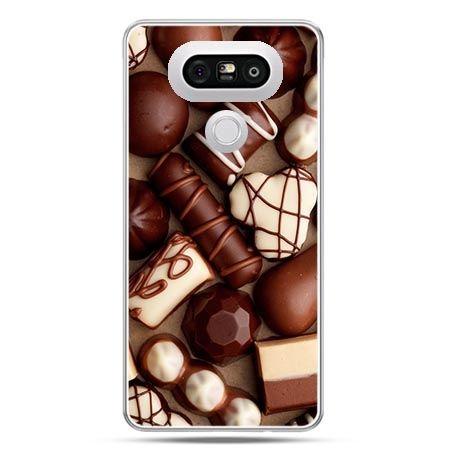 Etui na telefon LG G5 czekoladki