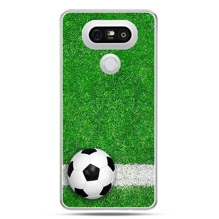 Etui na telefon LG G5 piłka murawa
