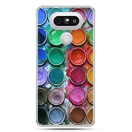 Etui na telefon LG G5 kolorowe farbki