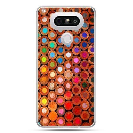 Etui na telefon LG G5 kolorowe kredki
