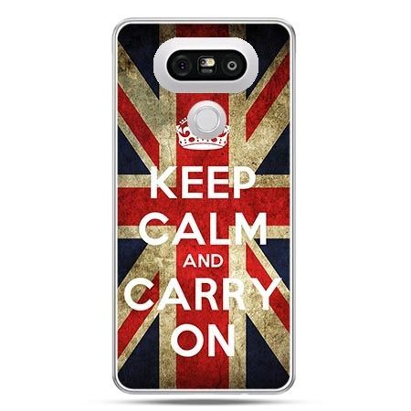 Etui na telefon LG G5 Keep calm and carry on
