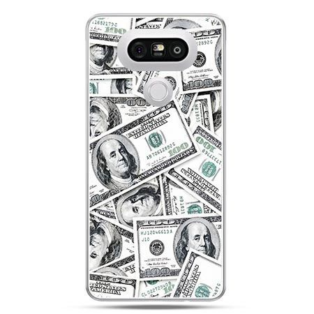 Etui na telefon LG G5 dolary banknoty