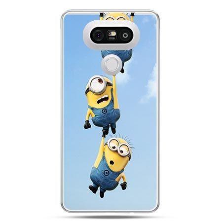 Etui na telefon LG G5 spadające minionki