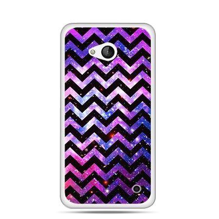 Etui na telefon Nokia Lumia 550 zig zag galaktyka