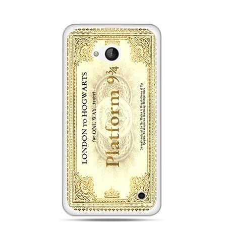 Etui na telefon Nokia Lumia 550 bilet platform 9 3/4 Harry Potter