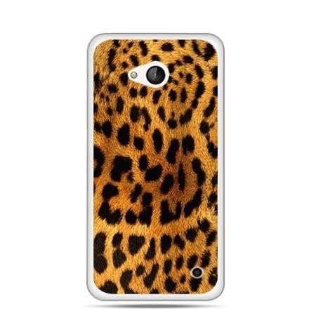 Etui na telefon Nokia Lumia 550 skóra lamparta