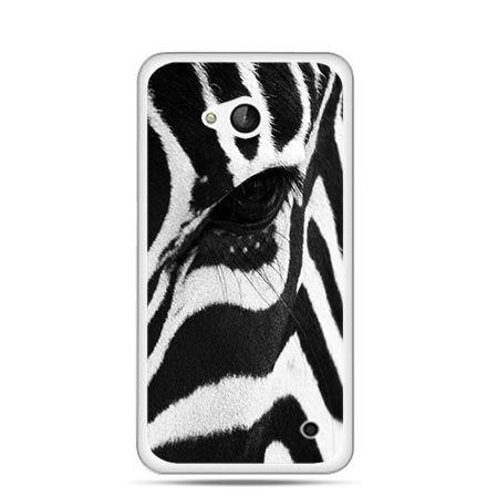 Etui na telefon Nokia Lumia 550 zebra