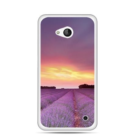 Etui na telefon Nokia Lumia 550 wrzosowisko