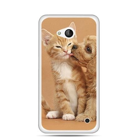 Etui na telefon Nokia Lumia 550 jak pies i kot