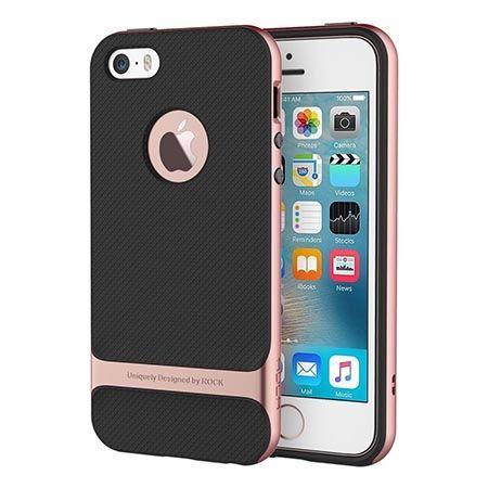Etui na telefon iPhone 5 / 5S Rock Royce - rose gold.