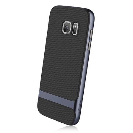 Etui na telefon Galaxy S7 Rock Royce - grafitowe.