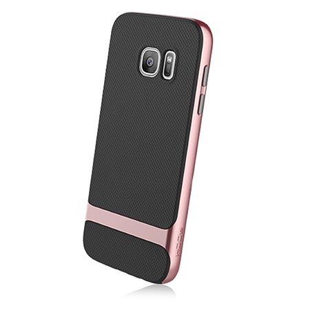 Etui na telefon Galaxy S7 Rock Royce - rose gold.