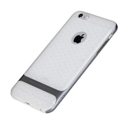Etui na telefon iPhone 6 / 6s Rock Royce Clear - grafitowy.