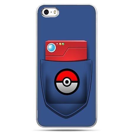 Etui na telefon w stylu Pokemon Ball - kieszeń.