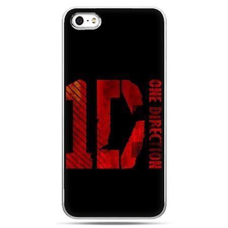 Etui na telefon One Direction czarne.