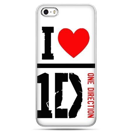 Etui na telefon One Direction białe.