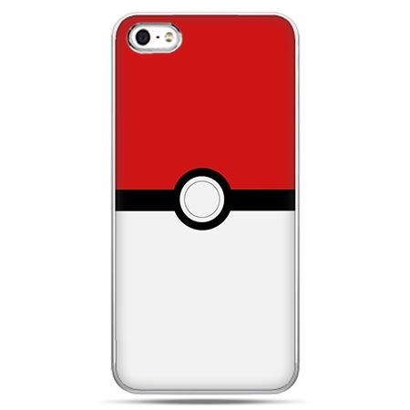 Etui na telefon w stylu pokemon poket ball.