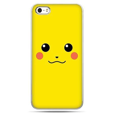 Etui na telefon w stylu pokemon pikachu uśmiech.
