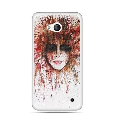 Etui na telefon Nokia Lumia 550 tajemnicza twarz