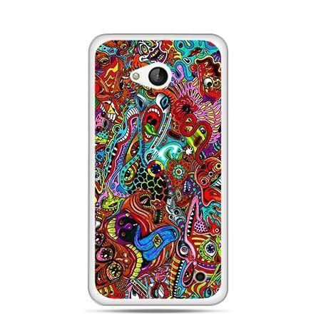 Etui na telefon Nokia Lumia 550 kolorowy chaos