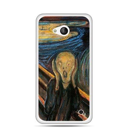 Etui na telefon Nokia Lumia 550 Krzyk Munka