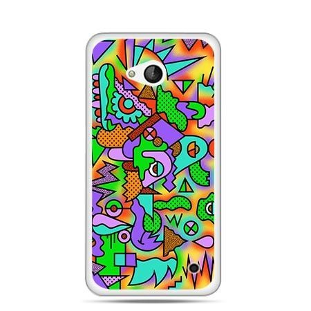 Etui na telefon Nokia Lumia 550 kolorowa abstrakcja