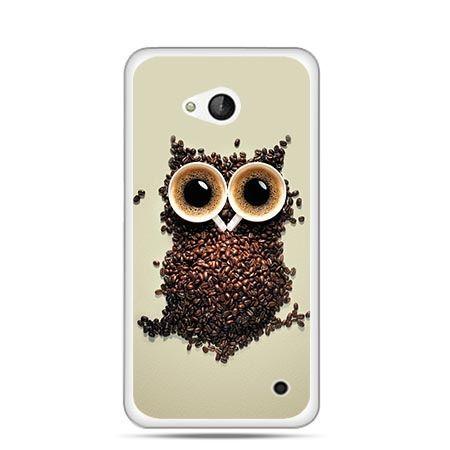 Etui na telefon Nokia Lumia 550 Kawa sowa
