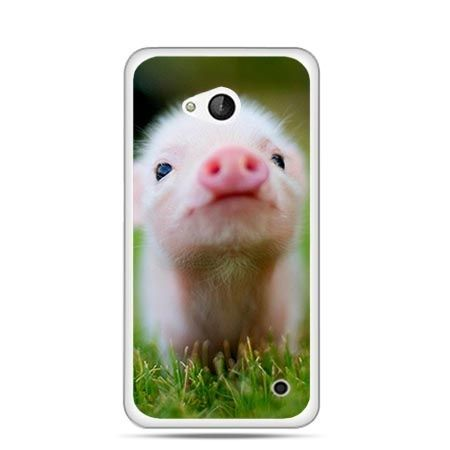 Etui na telefon Nokia Lumia 550 świnka