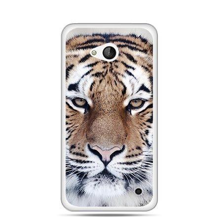 Etui na telefon Nokia Lumia 550 śnieżny tygrys