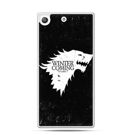 Etui na telefon Xperia M5 Winter is coming