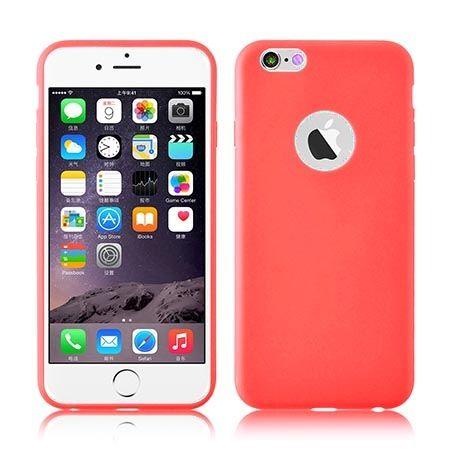 Etui na iPhone 6 6s jelly case - różowe.