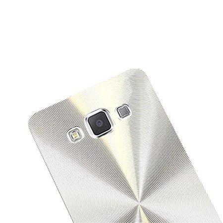 Samsung Galaxy A5 plecki aluminiowe efekt cd - srebrne. PROMOCJA !!!