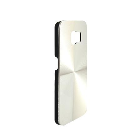 Etui na Galaxy S6 plecki aluminiowe efekt cd - srebrne. PROMOCJA !!!