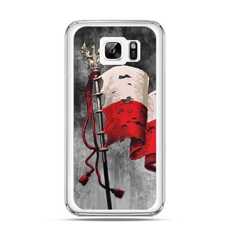 Etui na telefon Galaxy Note 7 patriotyczne - flaga Polski