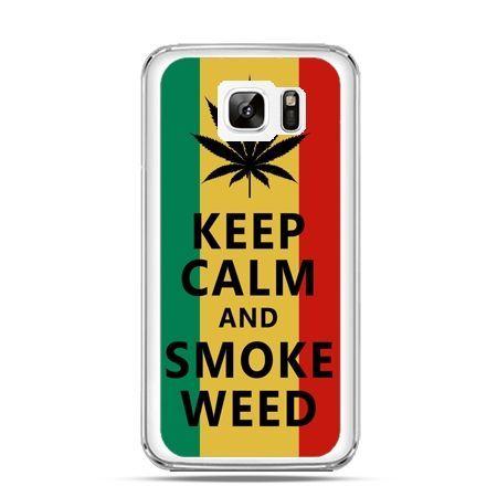 Etui na Samsung Galaxy Note 7 Keep Calm and Smoke Weed