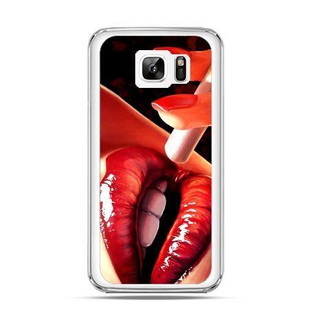 Etui na Samsung Galaxy Note 7 usta z papierosem