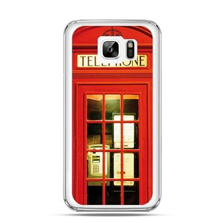 Etui na Samsung Galaxy Note 7 czerwona budka telefoniczna