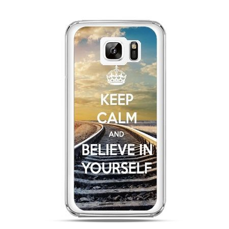 Etui na Samsung Galaxy Note 7 Keep Calm and Believe in Yourself