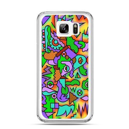 Etui na Samsung Galaxy Note 7 kolorowa abstrakcja