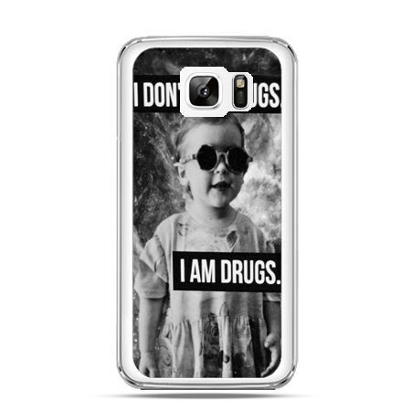 Etui na Samsung Galaxy Note 7 I don`t do drugs I am drugs